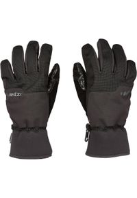 DREAMSCAPE - Rękawice snowboardowe i narciarskie SNB GL 500. Kolor: czarny. Materiał: syntetyk, materiał. Sport: narciarstwo, snowboard