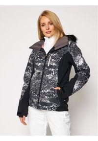 Roxy Kurtka narciarska Jet Ski Premium ERJTJ03261 Czarny Slim Fit. Kolor: czarny