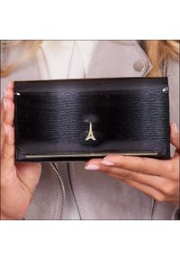 Czarny portfel PARIS DESIGN