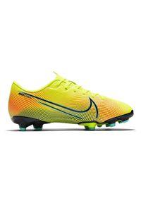 Buty piłkarskie korki Nike Mercurial Vapor 13 Academy MDS MG CJ0980. Materiał: syntetyk, skóra. Szerokość cholewki: normalna. Sport: piłka nożna