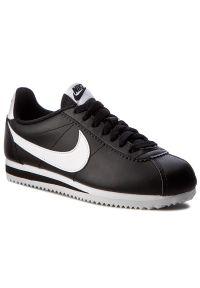 Czarne buty sportowe Nike na co dzień, z cholewką