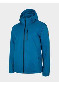 Niebieska kurtka narciarska outhorn