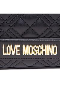 Love Moschino - Torebka LOVE MOSCHINO - JC4010PP1CLA0000 Nero. Kolor: czarny. Materiał: skórzane. Styl: elegancki
