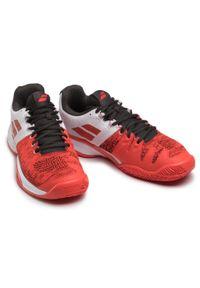 Czerwone buty do tenisa Babolat