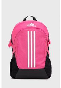 adidas Performance - Plecak. Kolor: różowy. Materiał: poliester