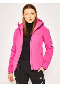 Różowa kurtka zimowa Peak Performance
