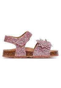 Różowe sandały Sergio Bardi Young na co dzień, casualowe