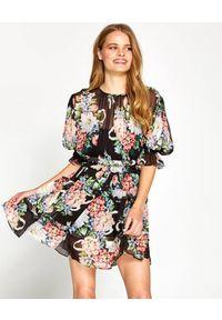 ALICE MCCALL - Sukienka Pretty Things. Kolor: czarny. Materiał: materiał. Wzór: kwiaty. Styl: elegancki. Długość: mini