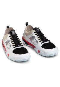 Es - Sneakersy ES - Silo 5101000167 White/Black/Red. Okazja: na co dzień. Kolor: biały. Materiał: zamsz, materiał, skóra. Szerokość cholewki: normalna. Styl: casual, sportowy