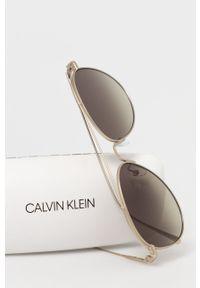 Calvin Klein - Okulary przeciwsłoneczne CK2163S.746. Kolor: srebrny