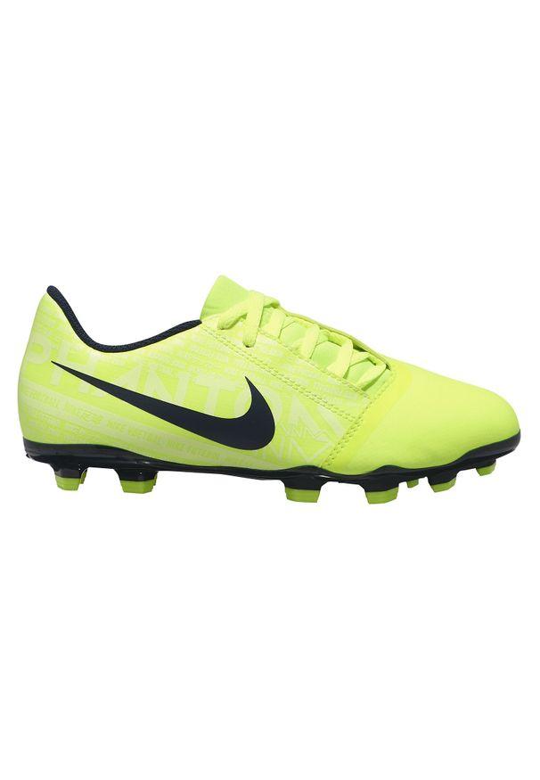 Buty dla dzieci do piłki nożnej Nike Phantom Venom Club FG AO0396. Materiał: skóra, syntetyk, neopren, materiał. Szerokość cholewki: normalna