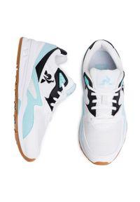 Białe buty sportowe Le Coq Sportif z cholewką, na co dzień