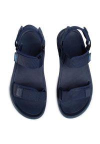 Niebieskie sandały 4f klasyczne, na lato