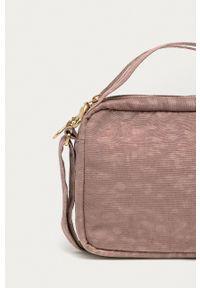 Herschel - Torebka. Kolor: różowy. Rodzaj torebki: na ramię