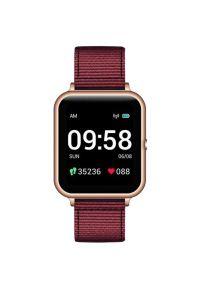 Złoty zegarek LENOVO sportowy, smartwatch