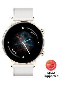 HUAWEI - Huawei smartwatch Watch GT 2, Frosty White, 42 mm. Rodzaj zegarka: smartwatch. Kolor: biały. Styl: sportowy, elegancki