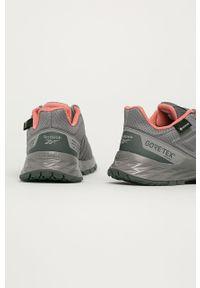 Szare buty sportowe Reebok z cholewką, Gore-Tex
