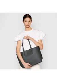 Lacoste Torebka Shopping Bag NF2142AA Beżowy. Kolor: beżowy