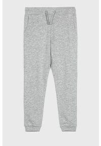 Szare spodnie dresowe Guess Jeans casualowe, na co dzień