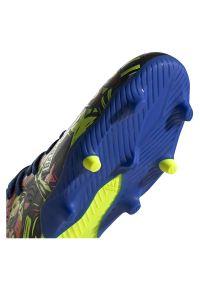 Adidas - Buty piłkarskie adidas Nemeziz Messi 19.3 FG EH0591. Zapięcie: sznurówki. Szerokość cholewki: normalna. Wzór: aplikacja. Sport: piłka nożna