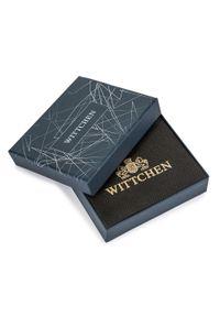 Wittchen - Damski portfel ze skóry na zatrzask. Kolor: czerwony. Materiał: skóra