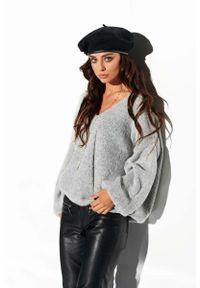 Szary sweter oversize Lemoniade