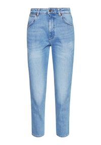 Wrangler Jeansy Western W2WZUH24L Niebieski Slim Fit. Kolor: niebieski