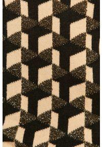 Wielokolorowy sweter Morgan długi, casualowy