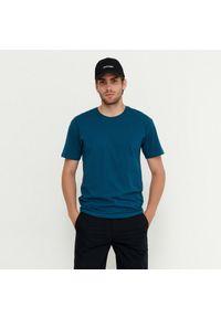 House - Koszulka z bawełny organicznej - Turkusowy. Kolor: turkusowy. Materiał: bawełna