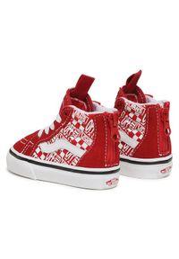 Vans Sneakersy Sk8-Hi Zip VN0A4BV13VB1 Czerwony. Kolor: czerwony. Model: Vans SK8