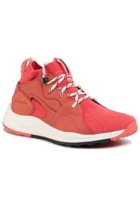 Różowe buty sportowe columbia