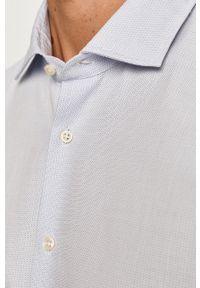 Niebieska koszula Baldessarini na co dzień, długa