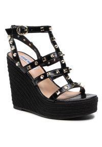 Czarne sandały Steve Madden