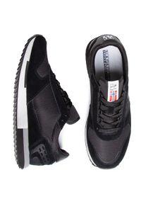 Czarne sneakersy Napapijri z cholewką, na co dzień