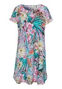 Sukienka Cellbes na lato, w kolorowe wzory