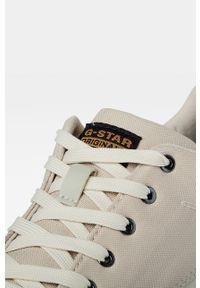 Szare sneakersy G-Star RAW z cholewką, na sznurówki