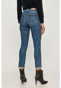 Pepe Jeans - Jeansy Dua 80's X Dua Lipa. Kolor: niebieski