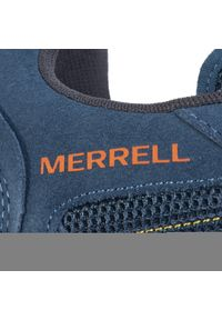 Niebieskie półbuty Merrell z cholewką