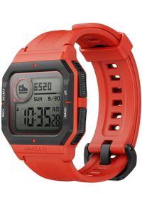 AMAZFIT - Amazfit smartwatch Neo, Orange. Rodzaj zegarka: smartwatch. Styl: retro