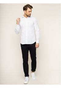 Baldessarini Koszula Henry 41232/000/40003 Biały Slim Fit. Kolor: biały #4