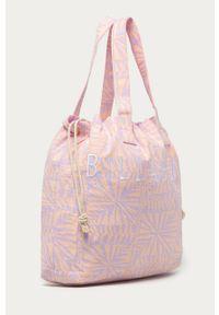 Fioletowa torba plażowa Billabong na ramię, duża