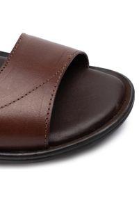 Brązowe sandały Sergio Bardi na lato, klasyczne