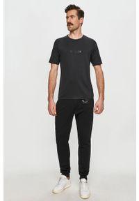 Czarny t-shirt Calvin Klein Performance na co dzień, casualowy #5