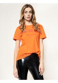 Pomarańczowy t-shirt Iceberg