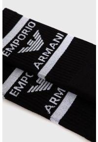 Emporio Armani Underwear - Emporio Armani - Skarpetki (2-pack). Kolor: czarny