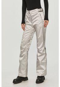 Rossignol - Spodnie snowboardowe. Kolor: srebrny. Materiał: tkanina, materiał. Technologia: Thinsulate. Sport: snowboard