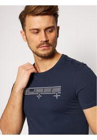 Niebieski t-shirt Guess #5