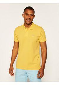 Żółta koszulka polo GANT polo