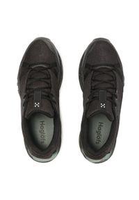 Haglöfs - Trekkingi HAGLÖFS - Trail Fuse Men 498210 Slate/True Black. Kolor: czarny. Materiał: skóra, skóra ekologiczna, materiał. Szerokość cholewki: normalna. Sport: turystyka piesza #2