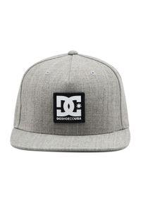 Szara czapka z daszkiem DC